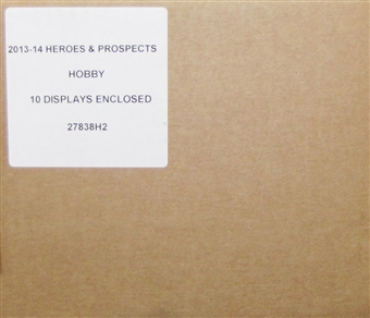 2013/14 In The Game Heroes & Prospects Hockey Hobby 10-Box Case