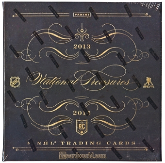 2013-14 Panini National Treasures Hockey Hobby Box