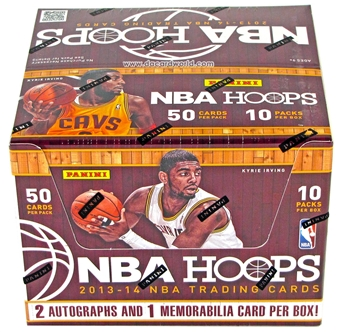2013/14 Panini NBA Hoops Basketball Jumbo Box