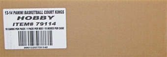 2013/14 Panini Court Kings Basketball Hobby 15-Box Case