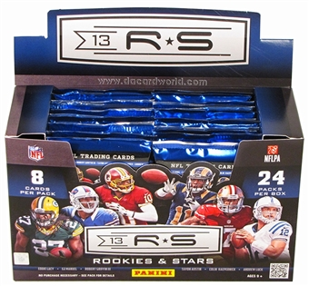 2013 Panini Rookies & Stars Football Hobby Case - DACW Live Random Team Break