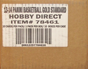 2013/14 Panini Gold Standard Basketball Hobby 10-Box Case