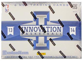 2013/14 Panini Innovation Basketball Hobby Case - DACW Live 30 Spot Random Team Break #12