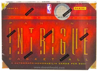 2012/13 Panini Intrigue Basketball Hobby Box