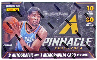 2013/14 Panini Pinnacle Basketball Jumbo Box