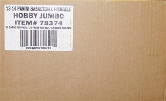 2013/14 Panini Pinnacle Basketball Jumbo 12-Box Case