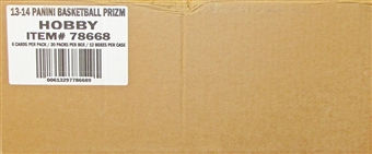 2013/14 Panini Prizm Basketball Hobby 12-Box Case