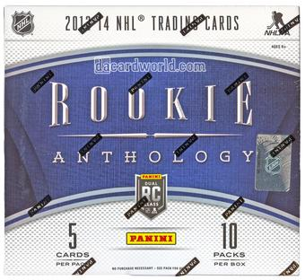 2013-14 Panini Rookie Anthology Hockey Hobby Box