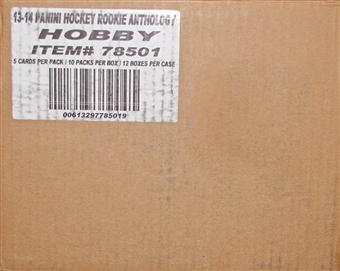 2013-14 Panini Rookie Anthology Hockey Hobby 12-Box Case