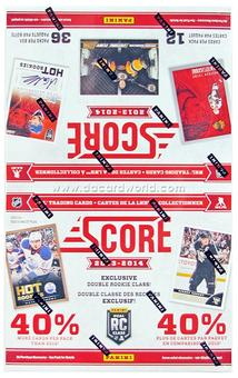 2013-14 Score Hockey 36-Pack Box (One Autograph Per Box)!