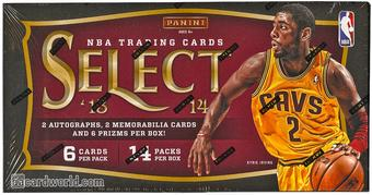 2013/14 Panini Select Basketball Hobby Box