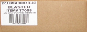2013-14 Panini Select Hockey 2-Pack 20-Box Case