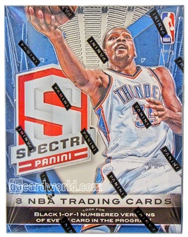 2013/14 Panini Spectra Basketball Hobby Box