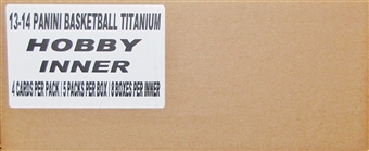 2013/14 Panini Titanium Basketball Hobby 8-Box Case