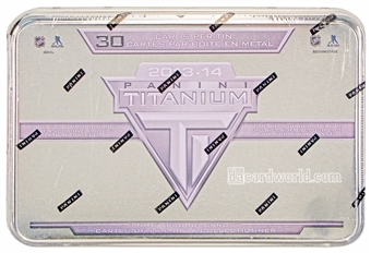2013-14 Panini Titanium Hockey Retail Box (Tin) - Rare Version !