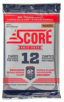 2013-14 Score Hockey Pack - Regular Price $1.99 !!!
