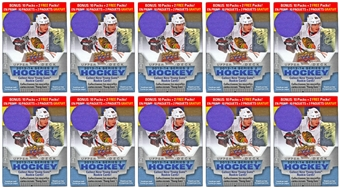 2013-14 Upper Deck Series 2 Hockey 12-Pack Box (Lot of 10)