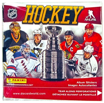 2013/14 Panini Hockey Sticker Box