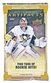 2013/14 Upper Deck Artifacts Hockey Hobby Pack