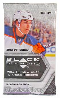 2013/14 Upper Deck Black Diamond Hockey Hobby Pack