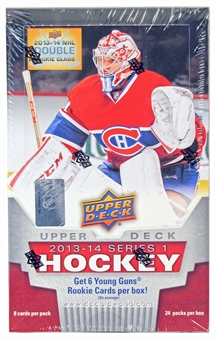 2013-14 Upper Deck Series 1 Hockey Hobby Box
