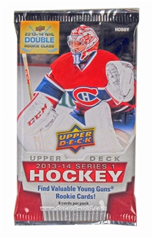 2013-14 Upper Deck Series 1 Hockey Hobby Pack