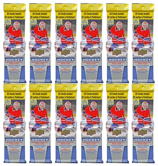 2013-14 Upper Deck Series 1 Hockey Fat Pack (Lot of 12)