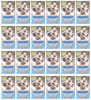 2013-14 Upper Deck Series 2 Hockey Retail Pack (Lot of 24)