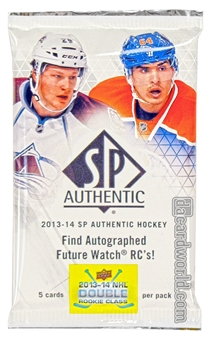 2013-14 Upper Deck SP Authentic Hockey Hobby Pack