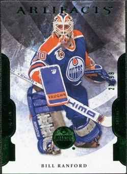 2011/12 Upper Deck Artifacts Emerald #93 Bill Ranford /99