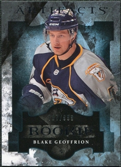 2011/12 Upper Deck Artifacts #171 Blake Geoffrion /999