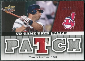 2009 Upper Deck UD Game Patch #GJTR Travis Hafner /25