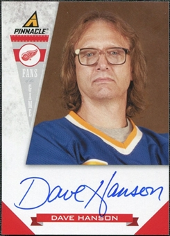 2011/12 Panini Pinnacle Fans of the Game Autographs #3 Dave Hanson Autograph