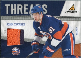 2011/12 Panini Pinnacle Threads Prime #10 John Tavares /50