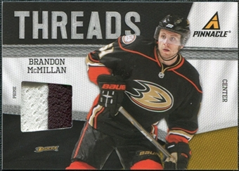 2011/12 Panini Pinnacle Threads Prime #37 Brandon McMillan /50
