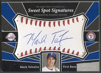 2004 Sweet Spot #MT Mark Teixeira Sweet Spot Signatures Auto