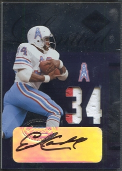 2005 Leaf Limited #LT29 Earl Campbell Threads Patch Auto #29/34