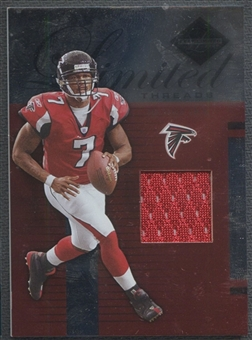 2005 Leaf Limited #LT65 Michael Vick Threads Jersey #01/75