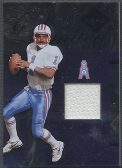 2005 Leaf Limited #LT99 Warren Moon Threads Jersey #48/75