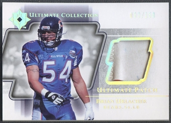 2004 Ultimate Collection #UPBU Brian Urlacher Game Jersey Patch #083/150