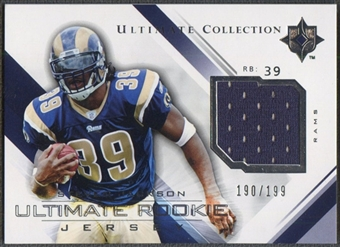 2004 Ultimate Collection #URJSJ Steven Jackson Rookie Jersey #190/199