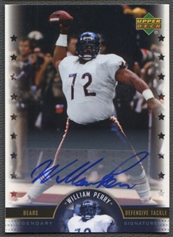 2005 Upper Deck Legends #WP William Perry Legendary Signatures Auto