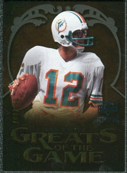 2009 Upper Deck Icons Greats of the Game Gold 199 #GGBG Bob Griese /199