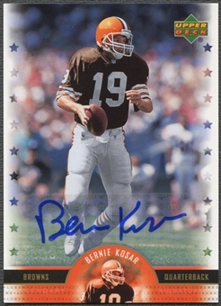 2005 Upper Deck Legends #BK Bernie Kosar Legendary Signatures Auto SP