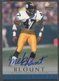 2000 Upper Deck Legends #MB Mel Blount Auto