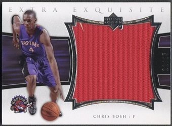 2004/05 Exquisite Collection #CB Chris Bosh Extra Exquisite Jersey #22/25