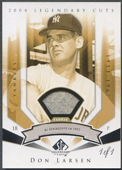 2004 SP Legendary Cuts #26 Don Larsen Pants #1/1