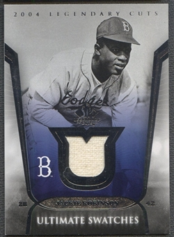 2004 SP Legendary Cuts #JR Jackie Robinson Ultimate Swatches Jersey