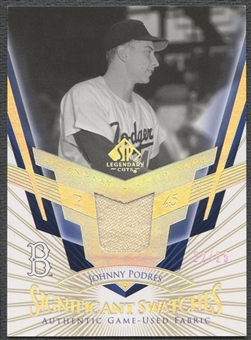 2004 SP Legendary Cuts #JP Johnny Podres Significant Swatches Jersey #22/25