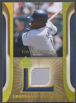 2004 SP Legendary Cuts #TG Tony Gwynn Legendary Swatches Pants
